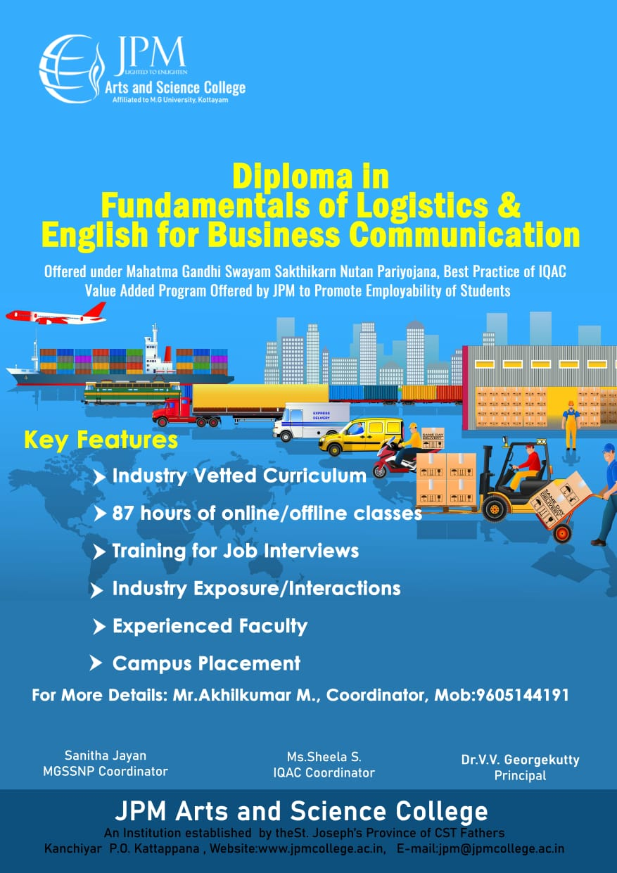 Diploma in Fundamentals of Logistics & English for Business Communication
